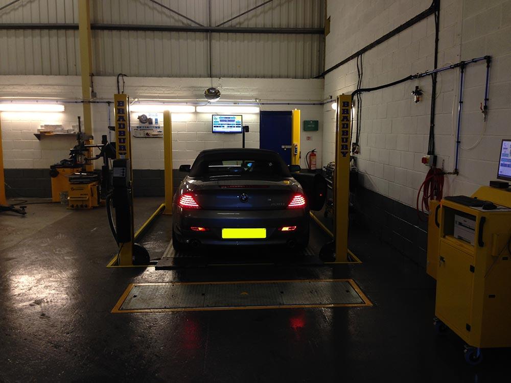 Convertible Roof Repair North West Blackpool Motor Works